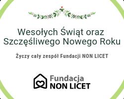 Fundacja nieczynna w dniach 24 grudnia – 6 stycznia