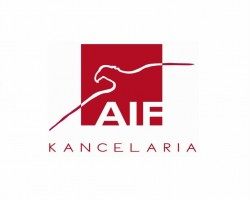 Podziękowania dla AIF Kancelarii za wsparcie finansowe