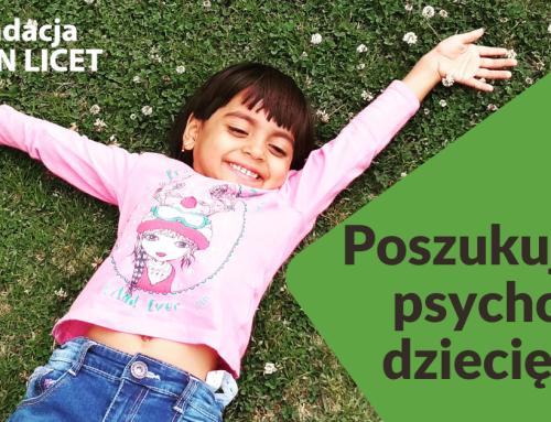 Oferta pracy – Psycholog dziecięcy w Fundacji NON LICET